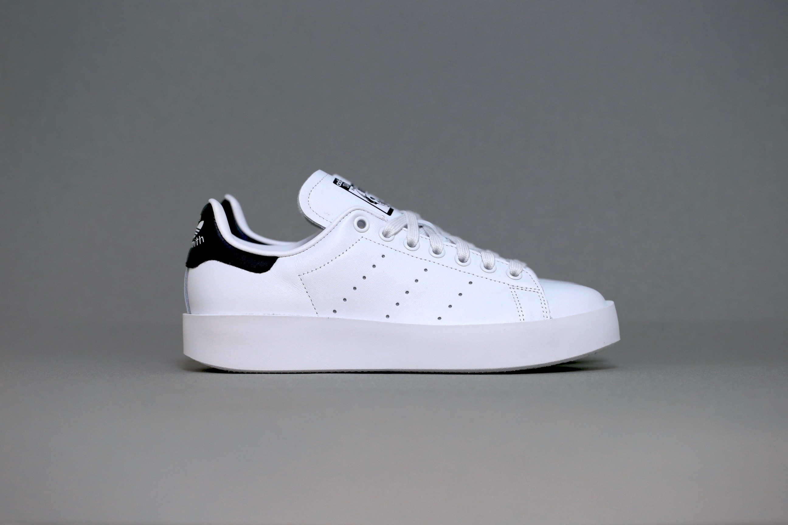 adidas Originals Stan Smith Bold – White / Core Black – STASP