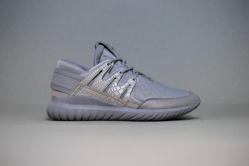 "adidas Originals Tubular Nova ""Luxe Textile"" Pack - Ch Solid Grey / Metallic Silver / Pearl Grey"