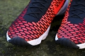 Nike Air Footscape Magista Flyknit - Black / Bright Crimson / Gym Red / Cool Grey