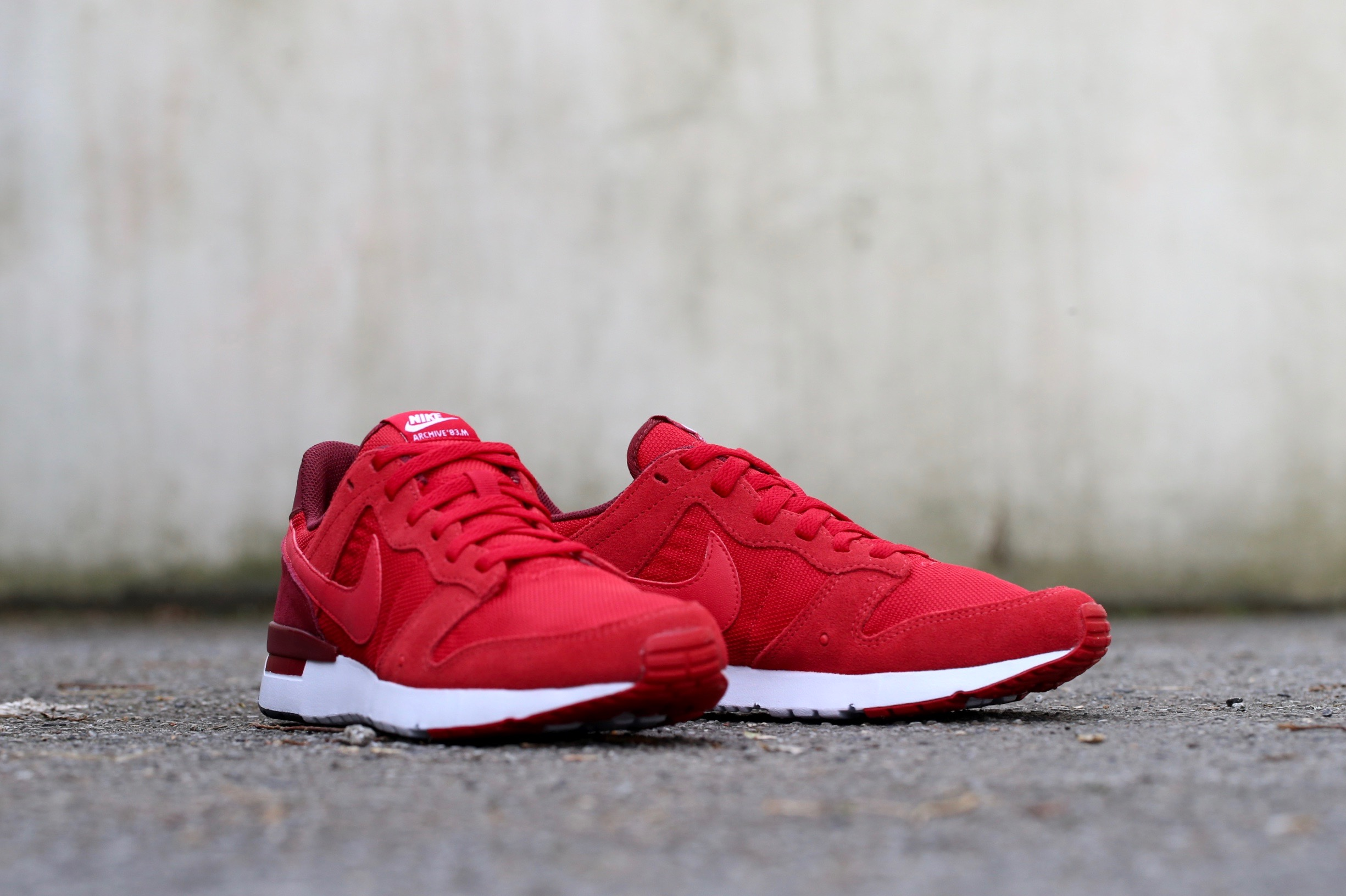wholesale dealer 50cd4 bd693 Nike Archive 83.M – Gym Red   Team Red   Prime Red – STASP