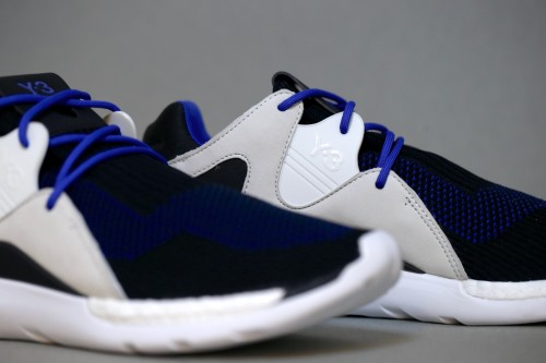 Y-3 QR Knit Run - Electric Blue / Core Black / Ftwr White