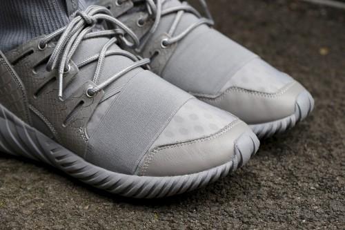 "adidas Originals Tubular Doom ""Luxe Textile"" Pack - Ch Solid Grey / Metallic Silver / Metallic Silver"