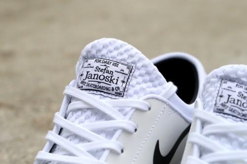 Nike SB Stefan Janoski Max L - White / Black