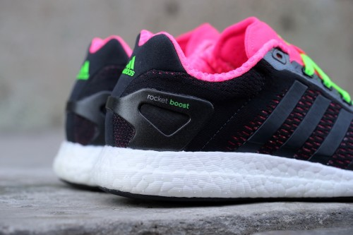 adidas CC Rocket Boost W - Core Black / Solar Pink