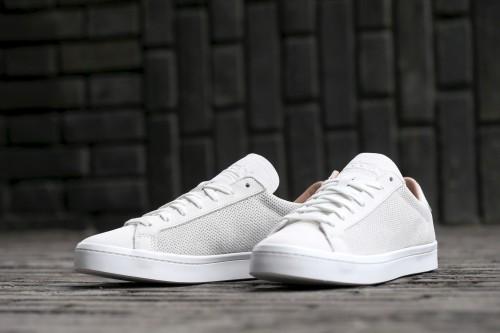 adidas Originals Court Vantage - Vintage White / Vintage White / Dust Pearl