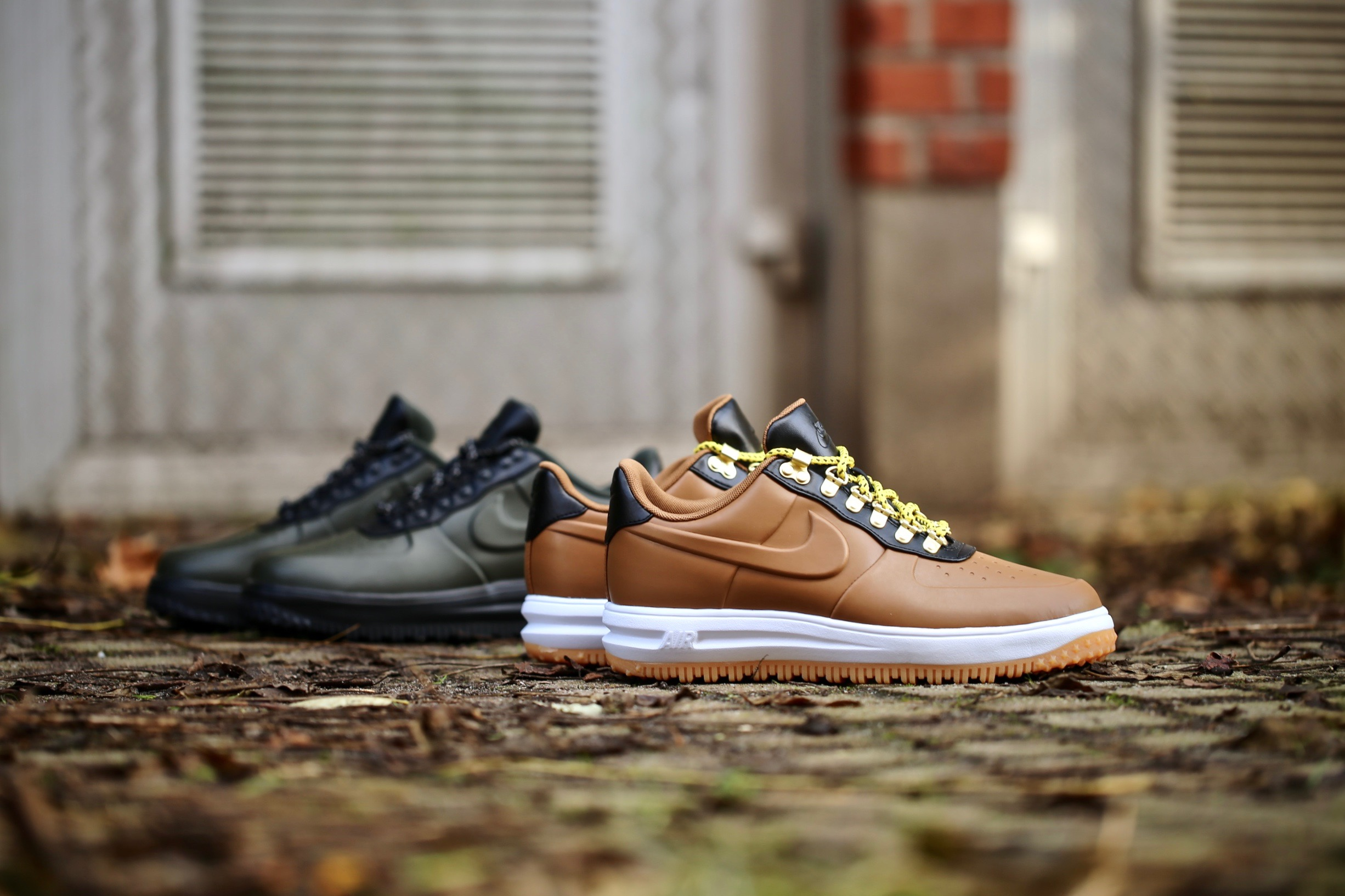 7e8a576e728c Nike Lunar Force 1 Duckboot Low – Ale Brown   Black   White – STASP