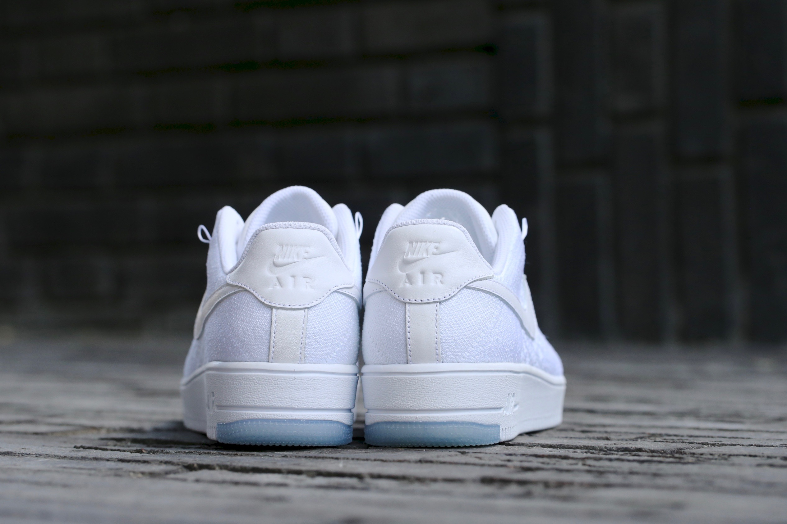separation shoes fc30b 86135 Nike W Air Force 1 Flyknit Low - White / White