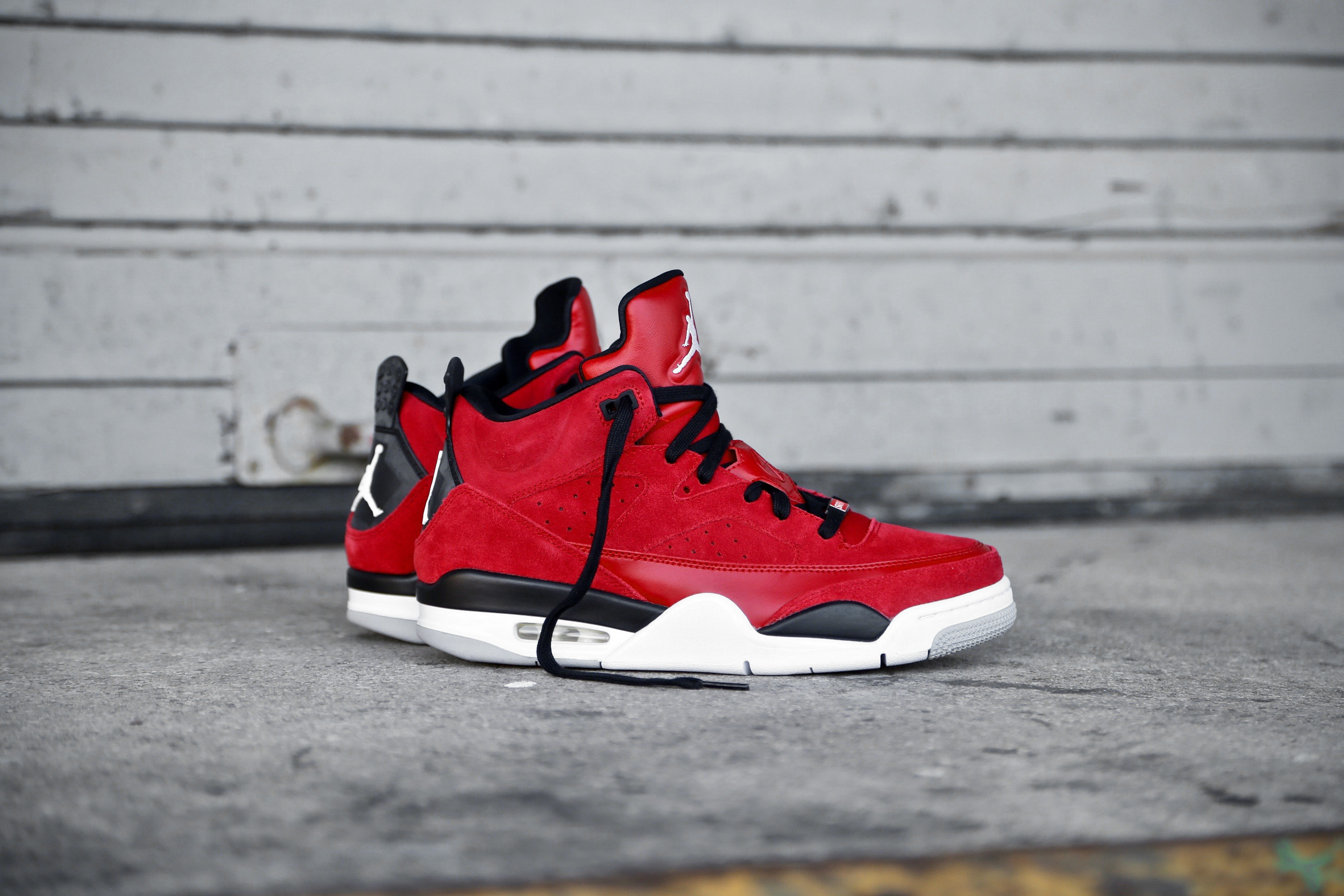 brand new b8a55 692a6 Jordan Son Of Mars Low – Gym Red   Black   White – STASP