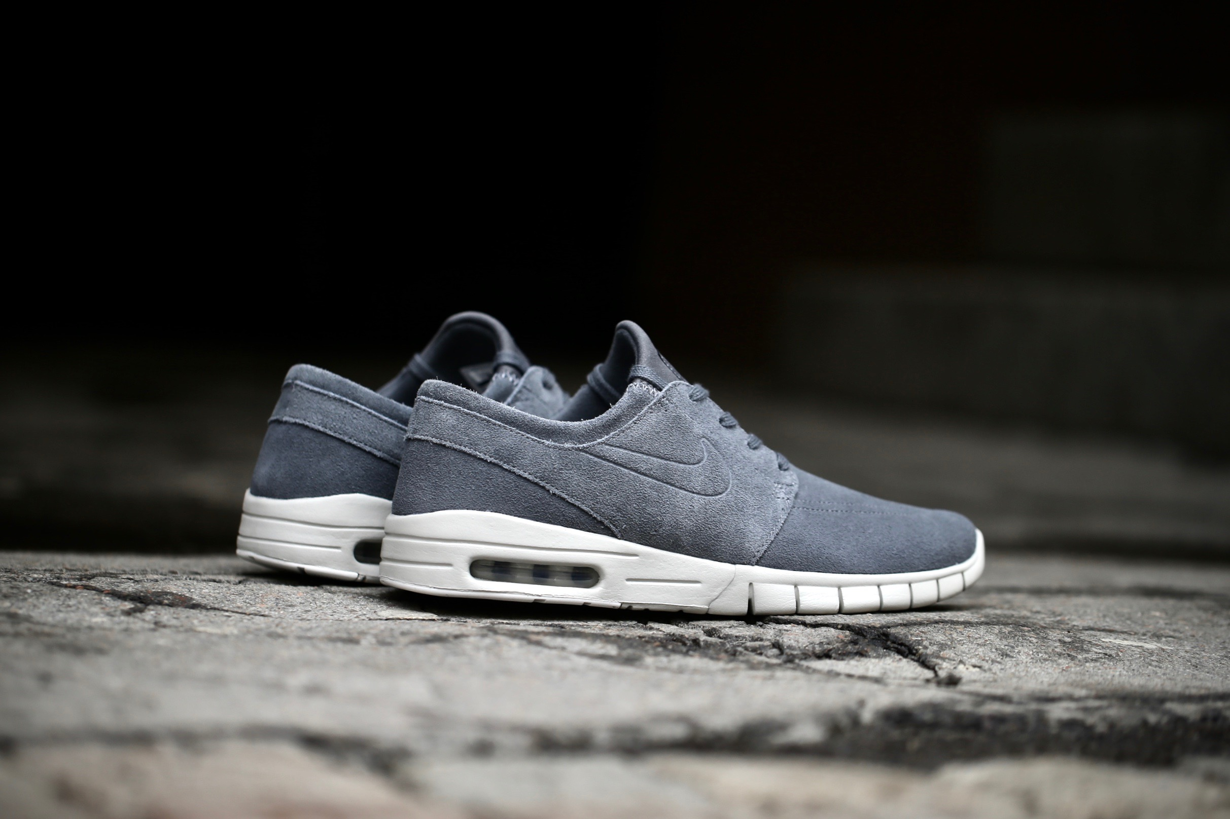 Nike SB Stefan Janoski Max L – Dark Grey   Light Bone – STASP 9eac6ff87