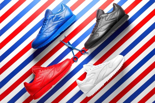 "Reebok CL Leather Ripple Mono ""Barber Pole"" Pack"