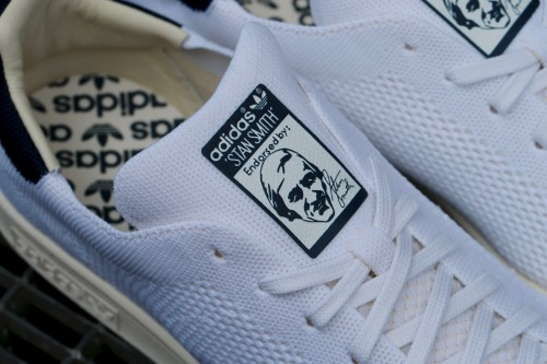 adidas Originals Stan Smith OG Primeknit - Ftwr White / Chalk White / Navy