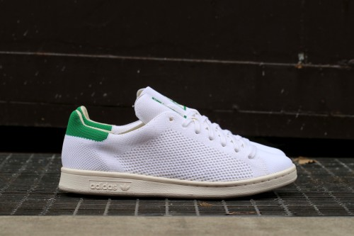 adidas Originals Stan Smith OG Primeknit - Ftwr White / Chalk White / Green