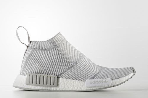 new concept 5c265 a689e adidas Originals NMD City Sock PK - Ftwr White / Ch Solid Grey / Ch Solid  Grey