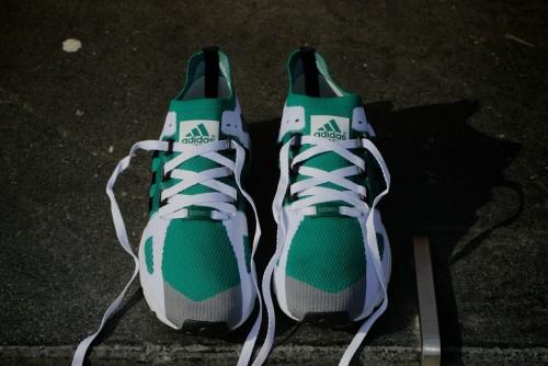 adidas Originals Equipment Running Guidance Primeknit - Grey / Core Black / Sub Green