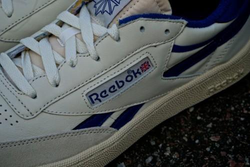 Reebok Revenge Plus Vintage – Chalk / Paperwhite / Collegiate Royal / Exclnt