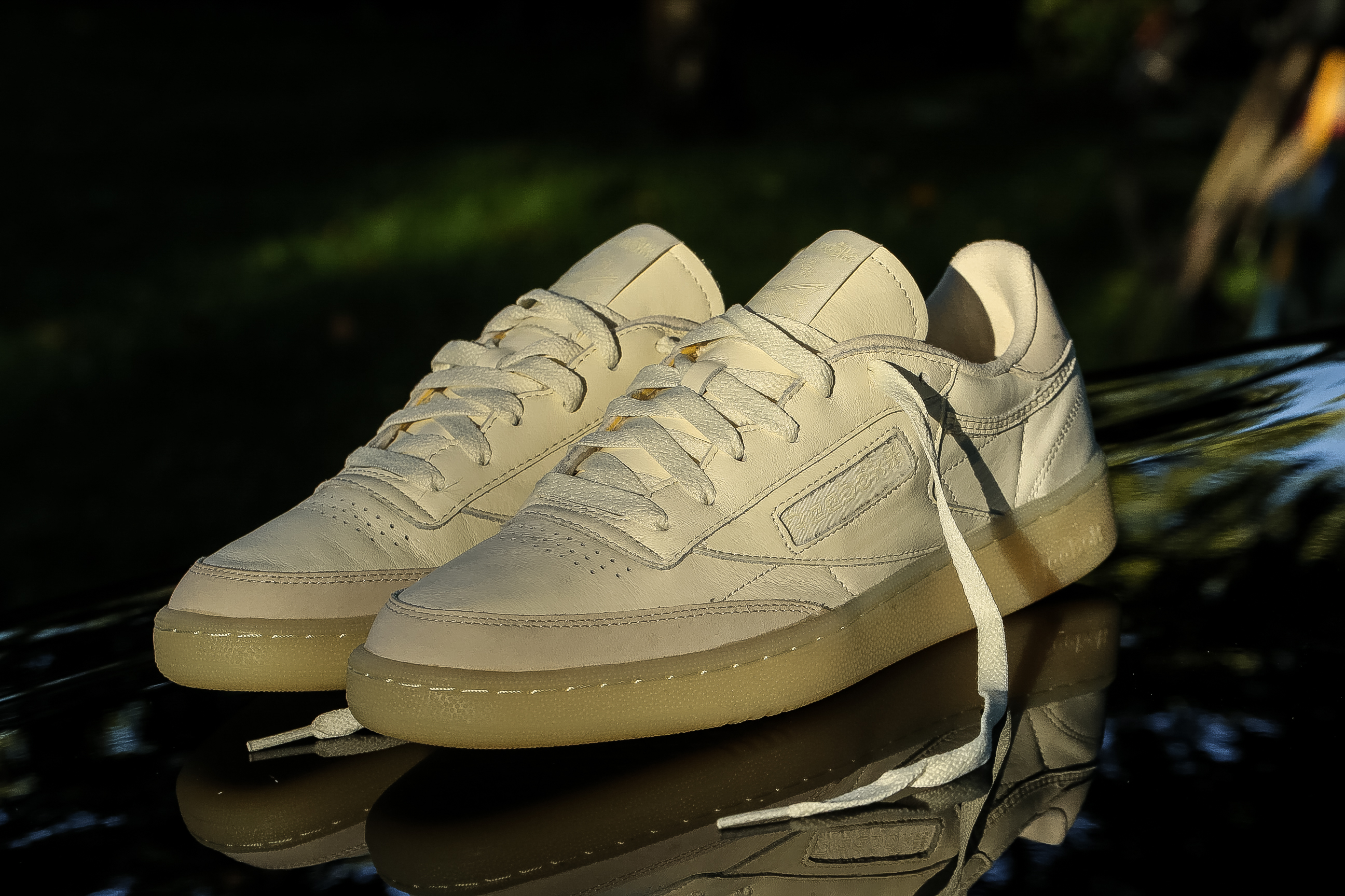 """e1c28dbf4aa Reebok Club C 85 """"Butter Soft"""" Pack – Creme   Washed Yellow – STASP"""