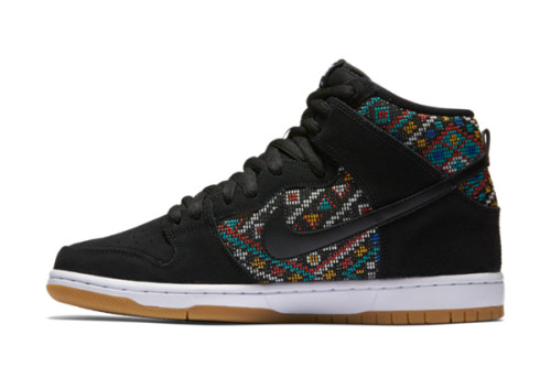 Nike SB Dunk High Premium 'Seat Cover Collection' – Black/Rio Teal/White/Black