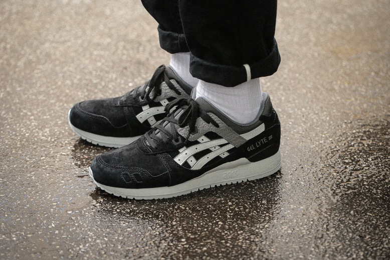 ASICS Gel-Lyte III – Black / Soft Grey –
