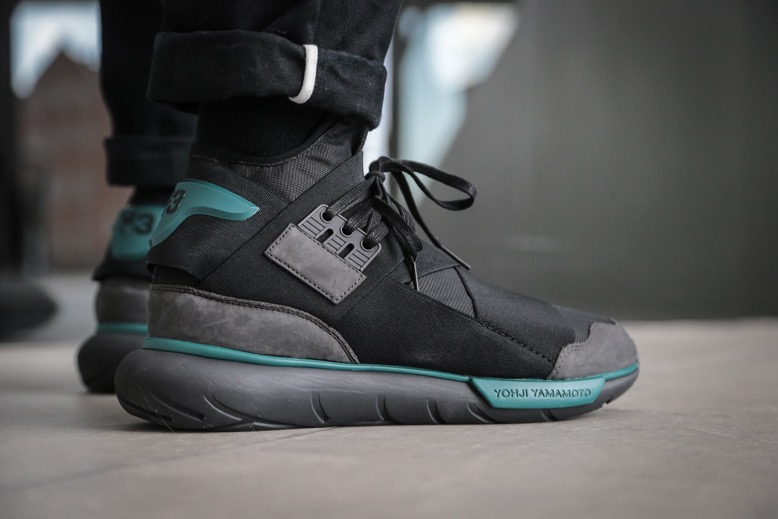 Y-3 Qasa High – Charcoal   Core Black   Real Teal – STASP 9841a660a