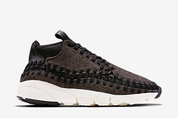 new product a0bf9 8c8ce Nike Air Footscape Woven Chukka SE – Black / Ivory / Black – STASP
