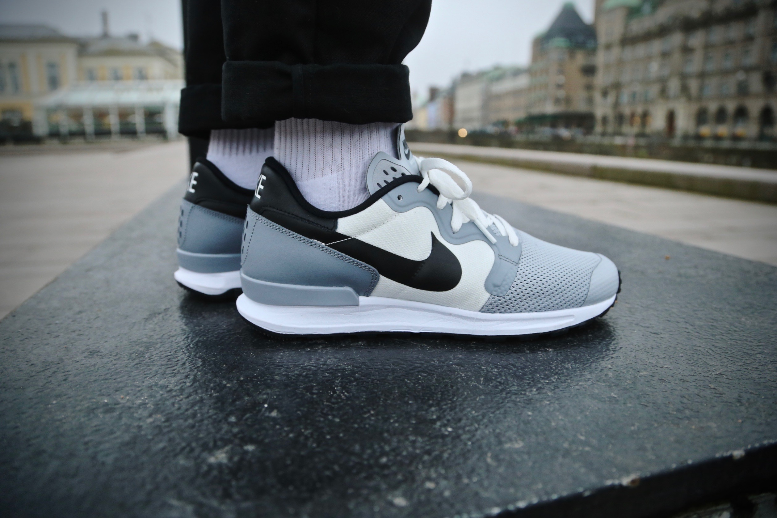 Nike Air Berwuda Wolf Grey Black