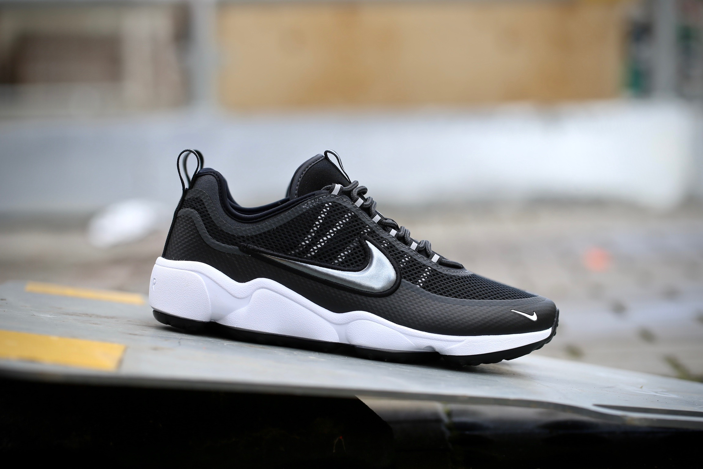 aacd3452e57bf8 Nike Air Zoom Spiridon – Black   Metallic Hematite   Anthracite ...