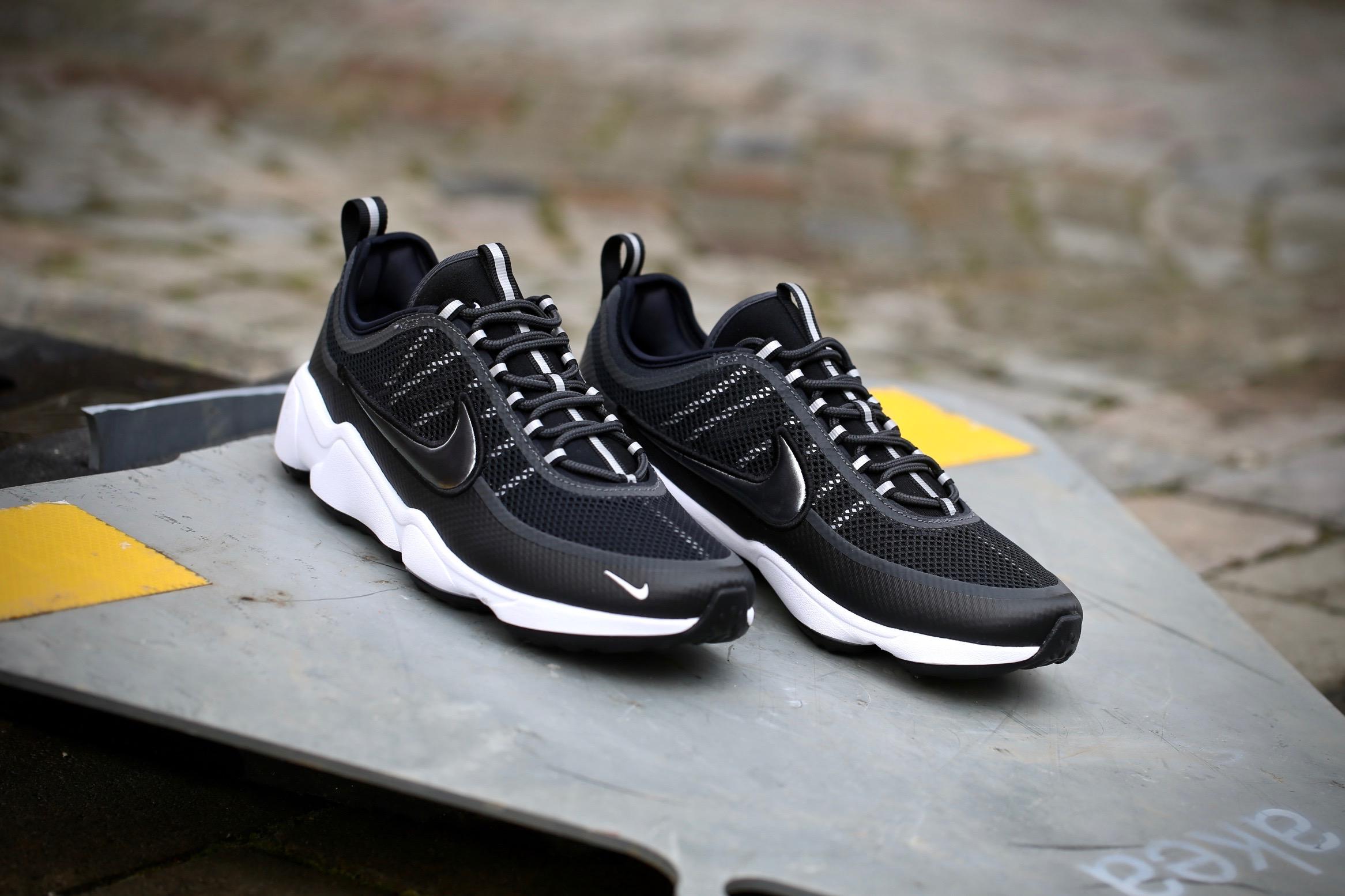 Nike Air Zoom Spiridon – Black / Metallic Hematite ...