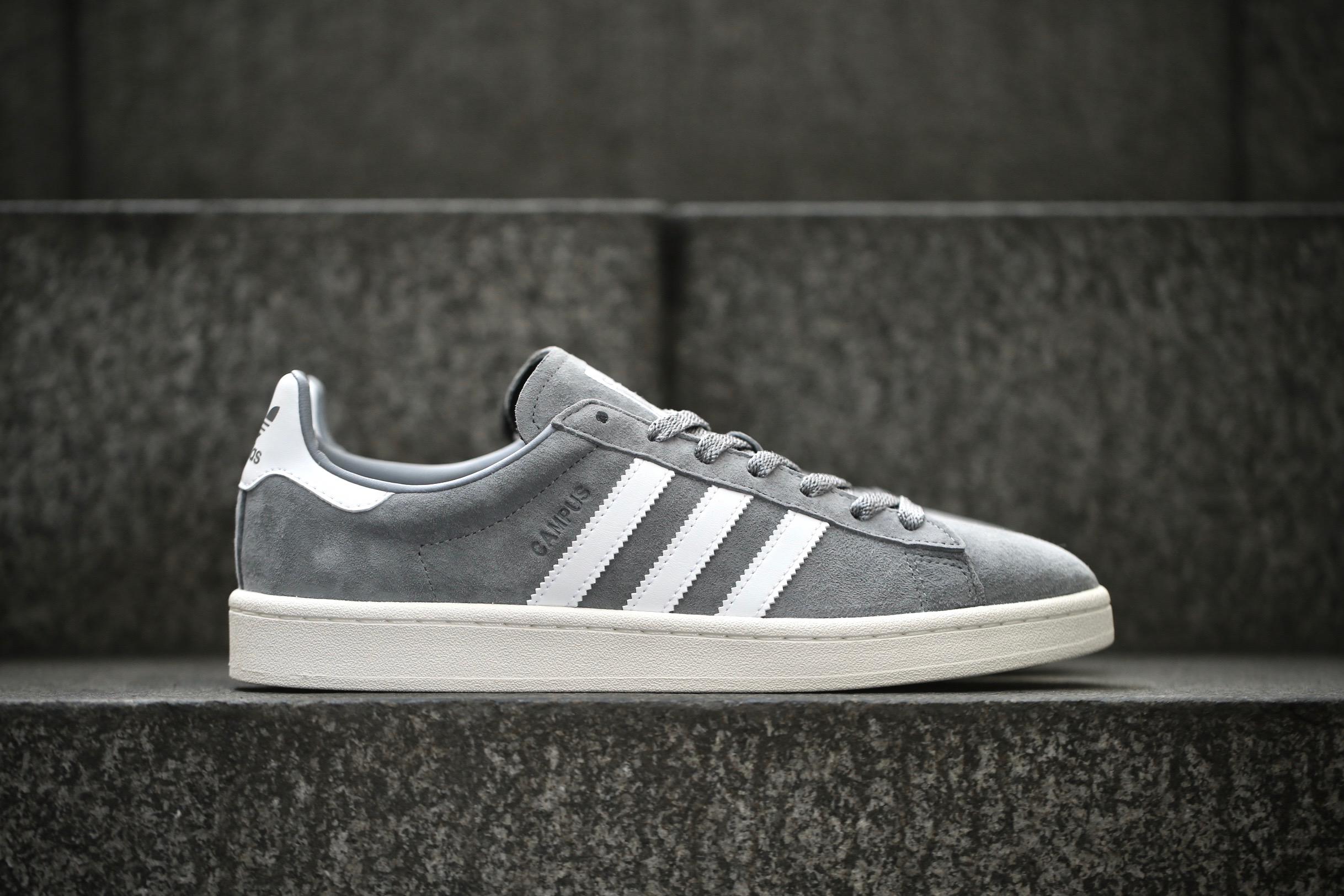 3d305626e1e adidas Originals Campus – Grey   Ftwr White   Chalk White – STASP