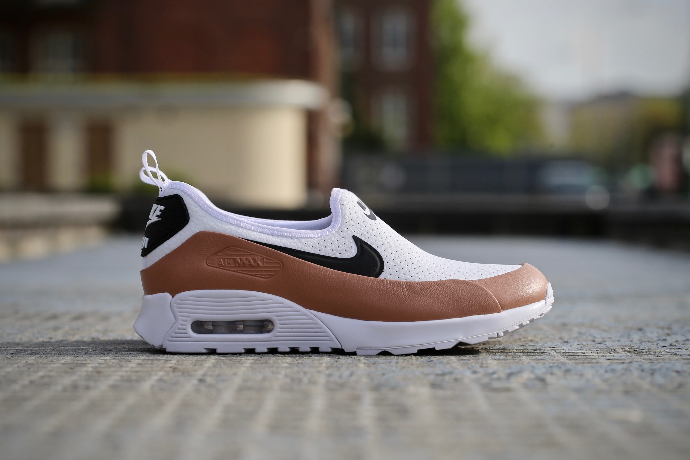 new arrival 8f482 96357 Nike Wmns Air Max 90 Ultra 2.0 EZ – White   Black   Dusted Clay – STASP