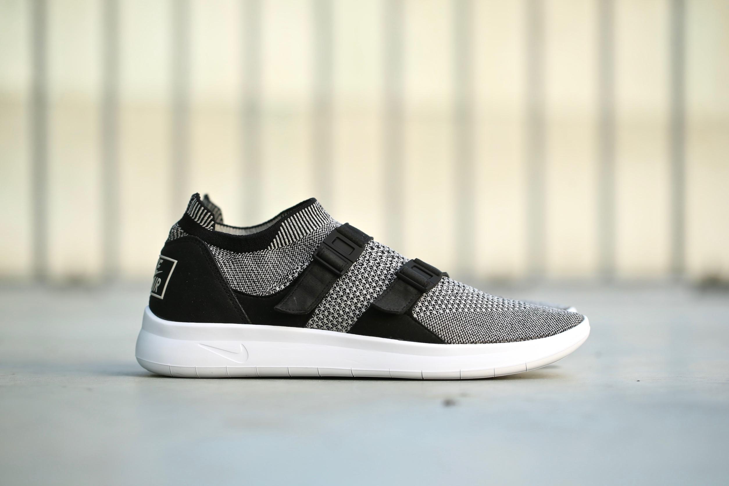 b2c8cd7015aa3 Nike Air Sock Racer Ultra Flyknit – Black   Pale Grey   Black ...