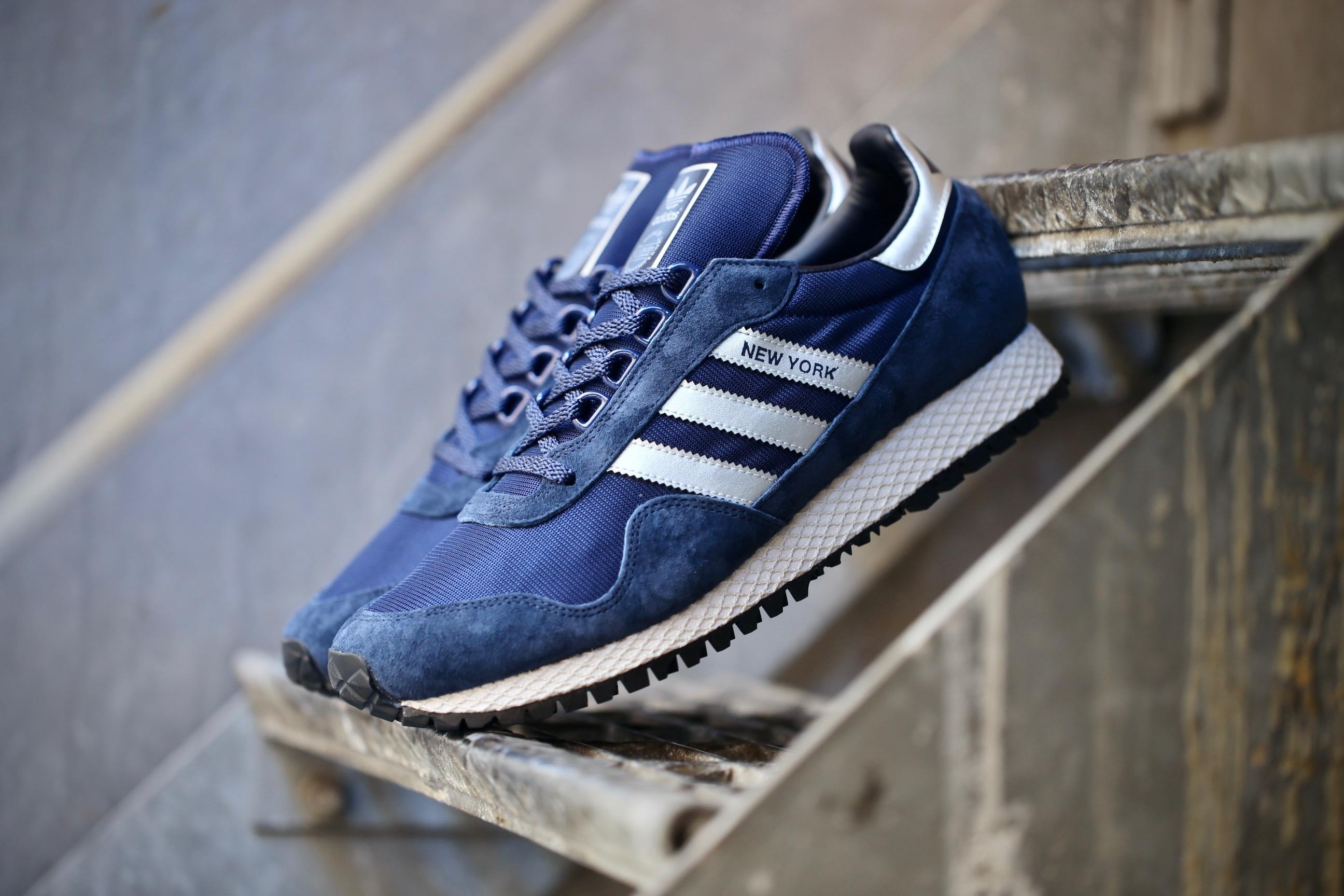 adidas Originals New York Dark Blue Matte Silver Collegiate Navy
