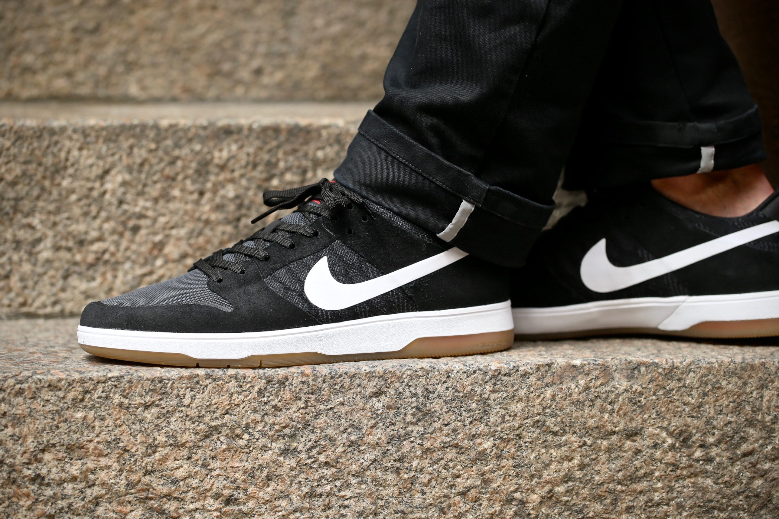 f869590cb3dc Nike SB Zoom Dunk Low Elite – Black   Gum   White – STASP