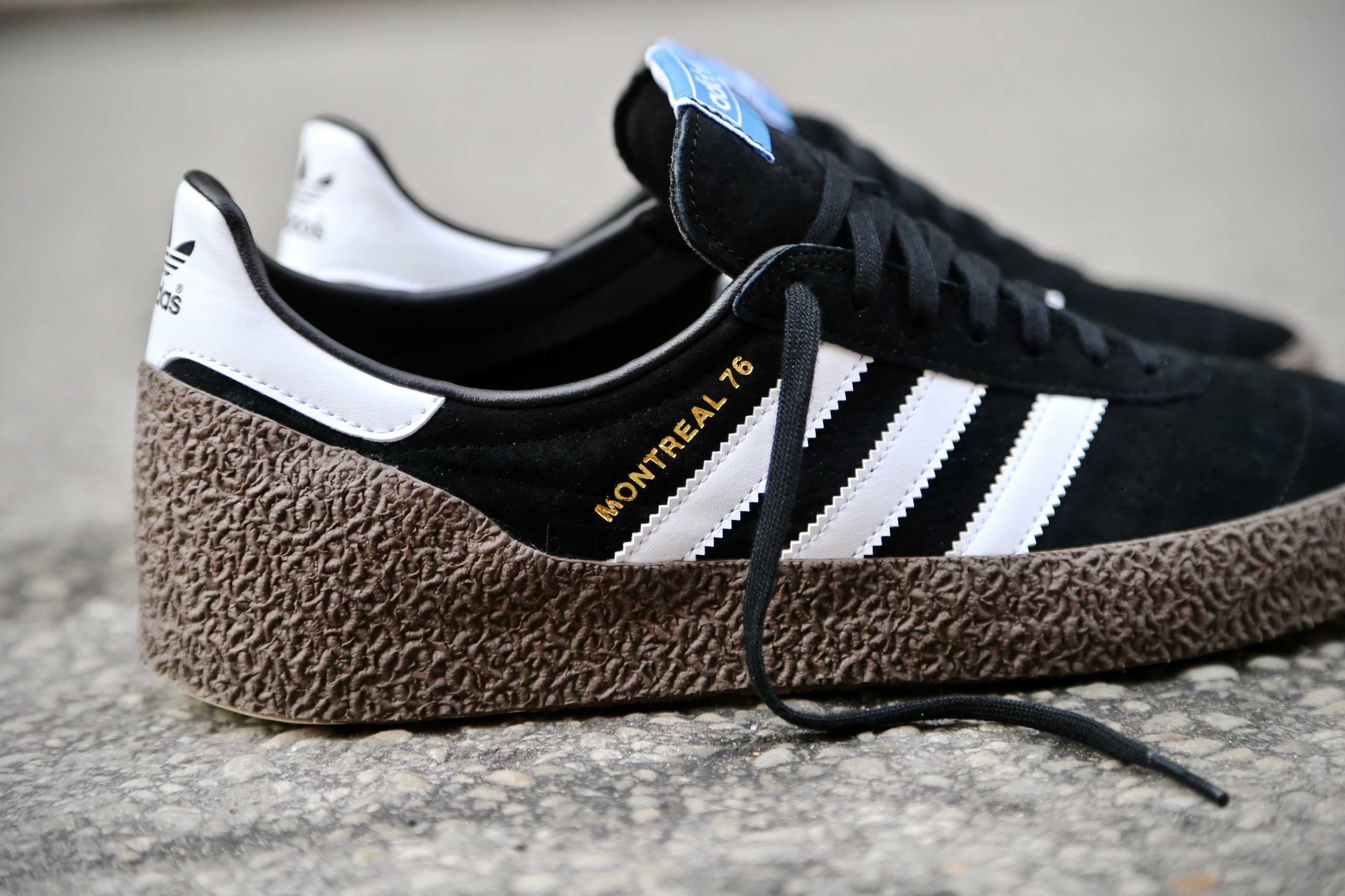 Adidas Originals Montreal 76  U2013 Core Black    Ftwr White