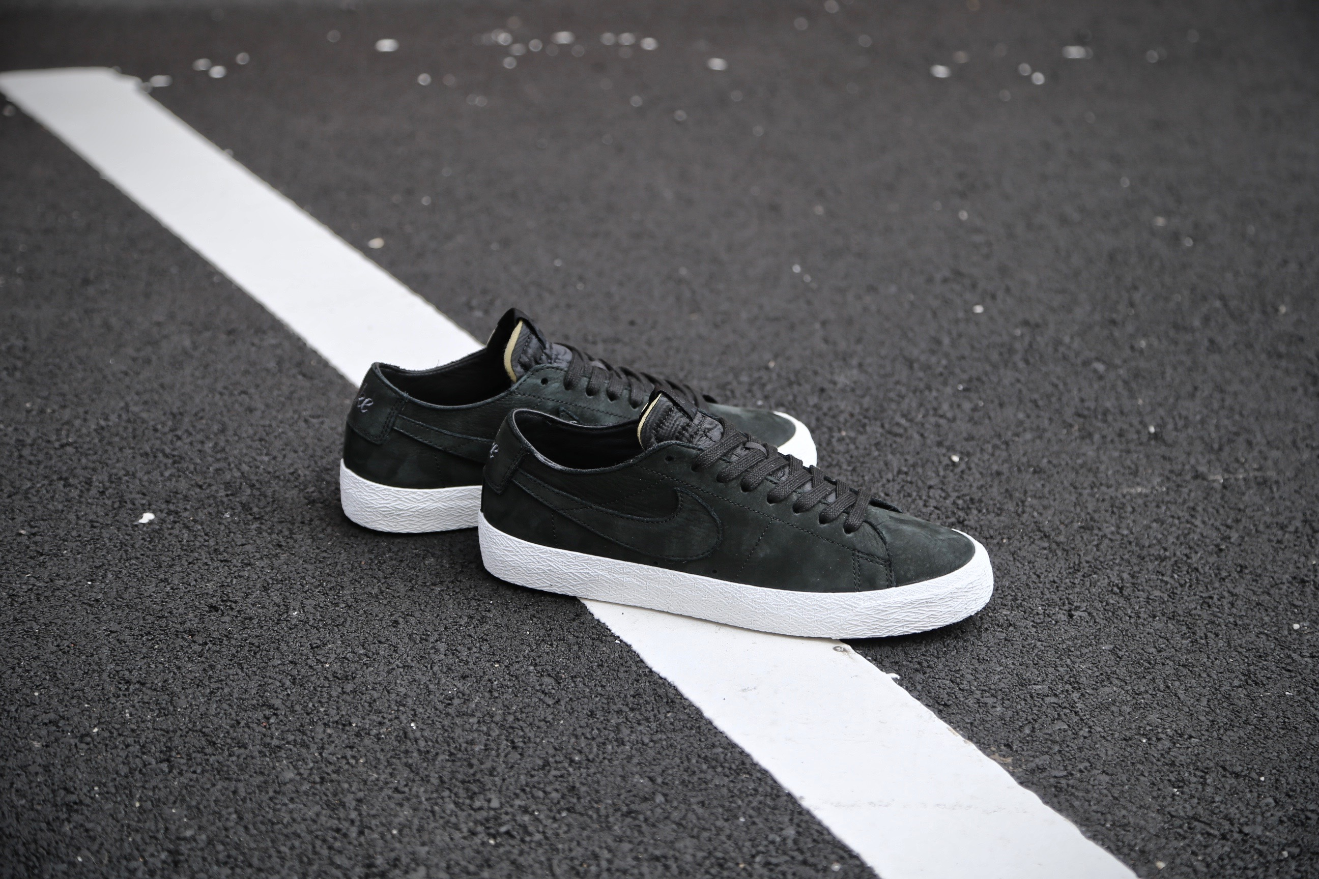 large discount best place to buy Nike SB Zoom Blazer Low Decon - Black / Anthracite