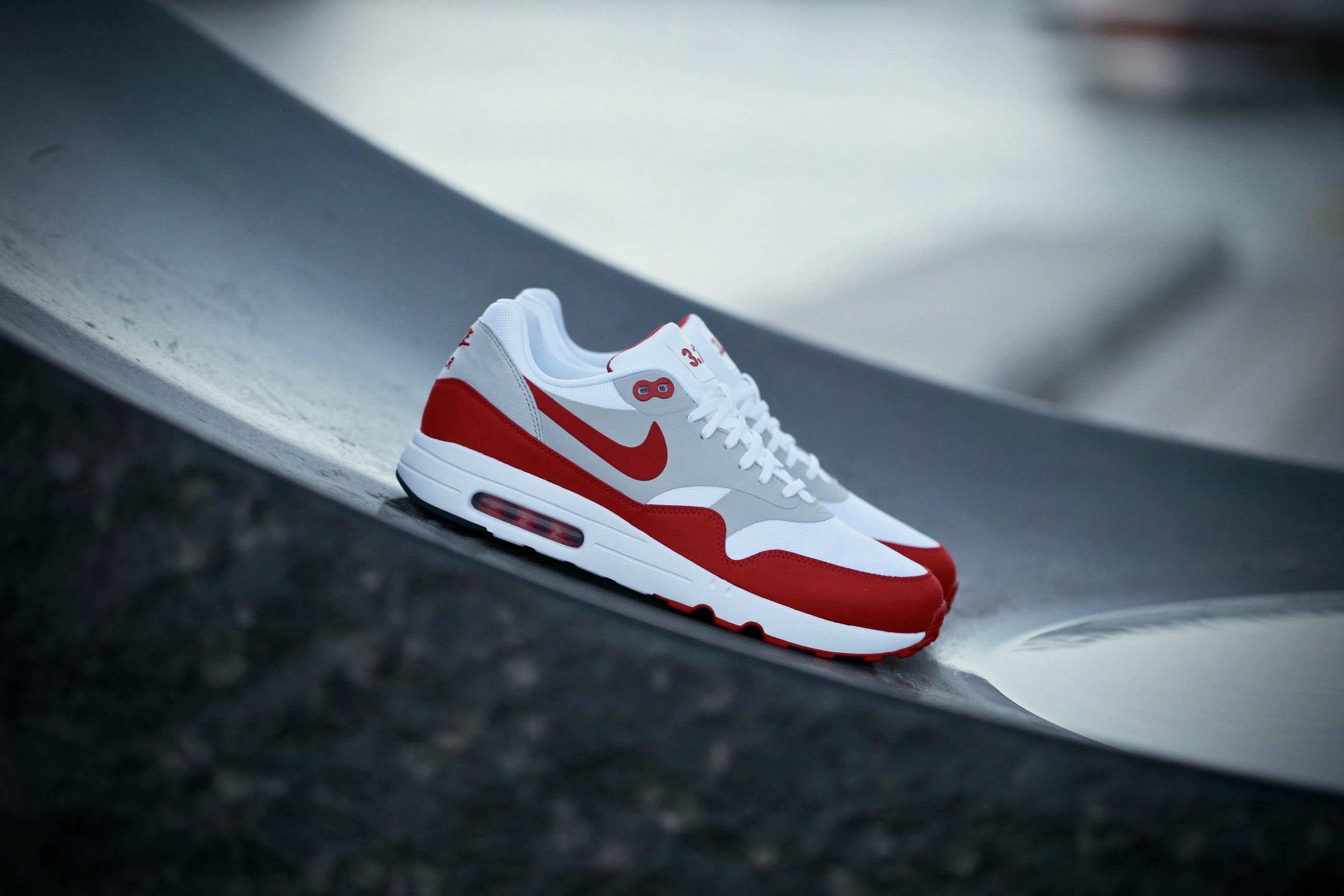 size 40 cb295 0db59 Nike Air Max 1 Ultra 2.0 LE – White   University Red – STASP