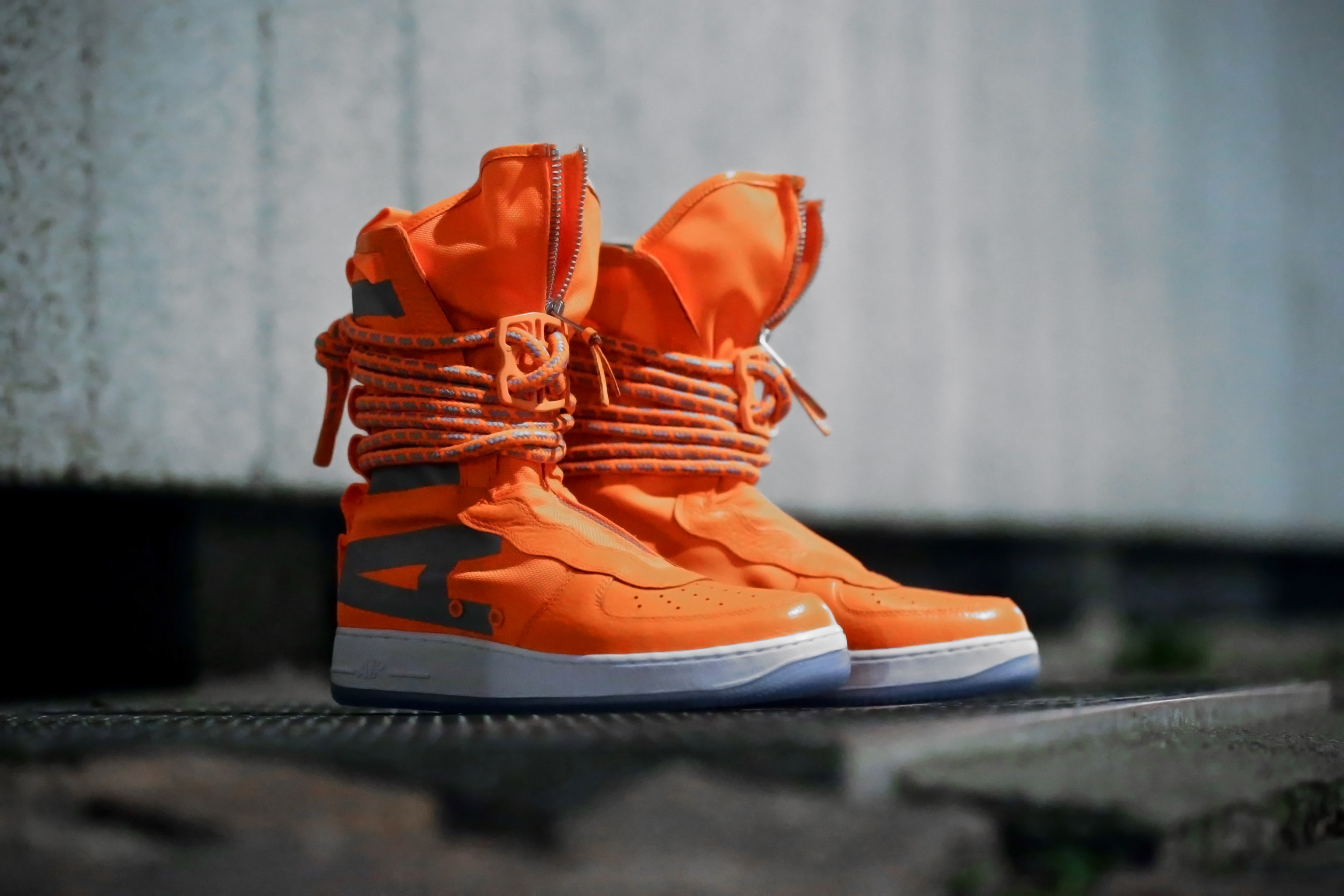 SF Air Force 1 High 'Total Orange'