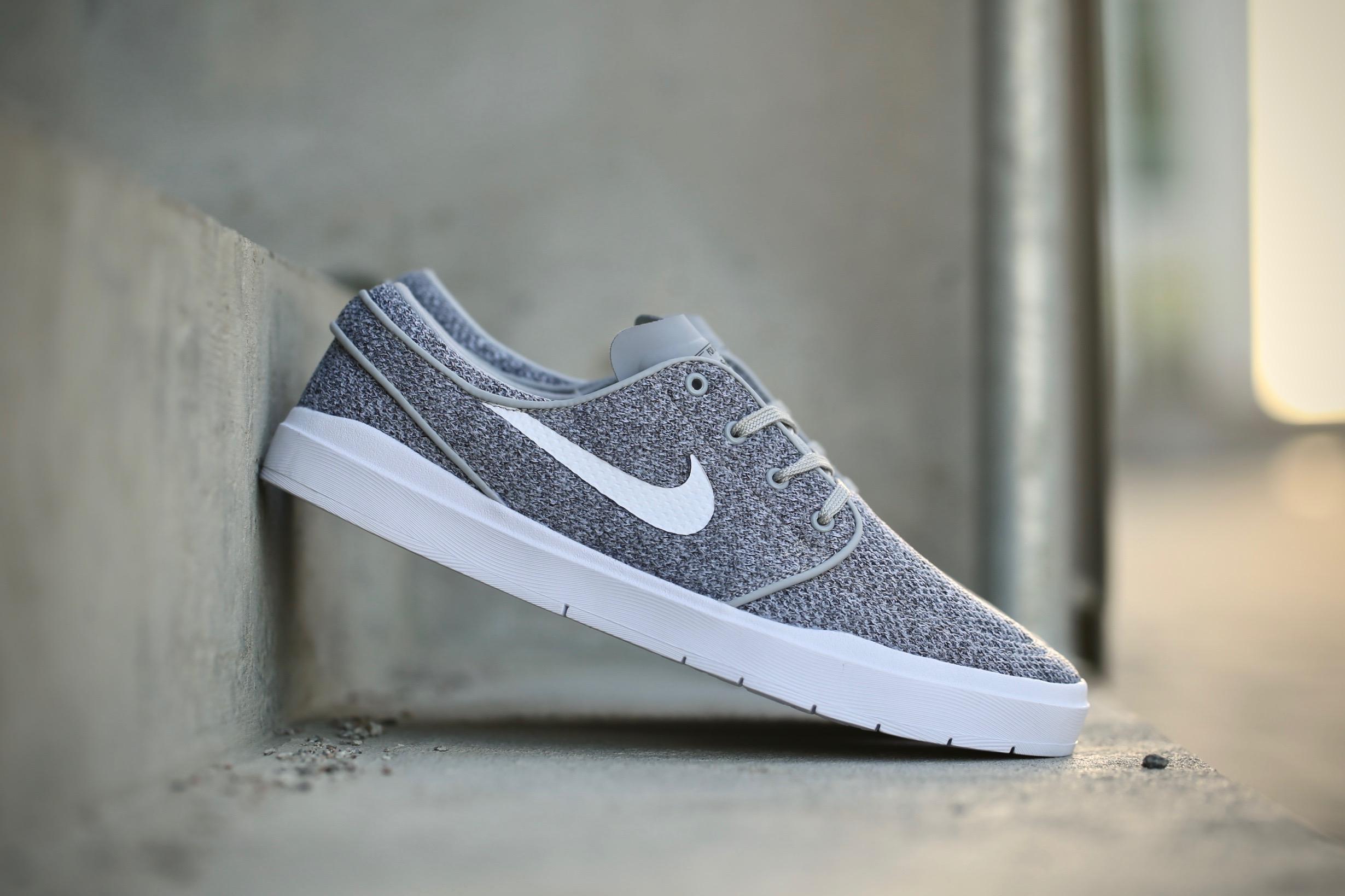 new arrival 5a08a 8fe81 Nike SB Janoski Hyperfeel Mesh – Wolf Grey   White – STASP