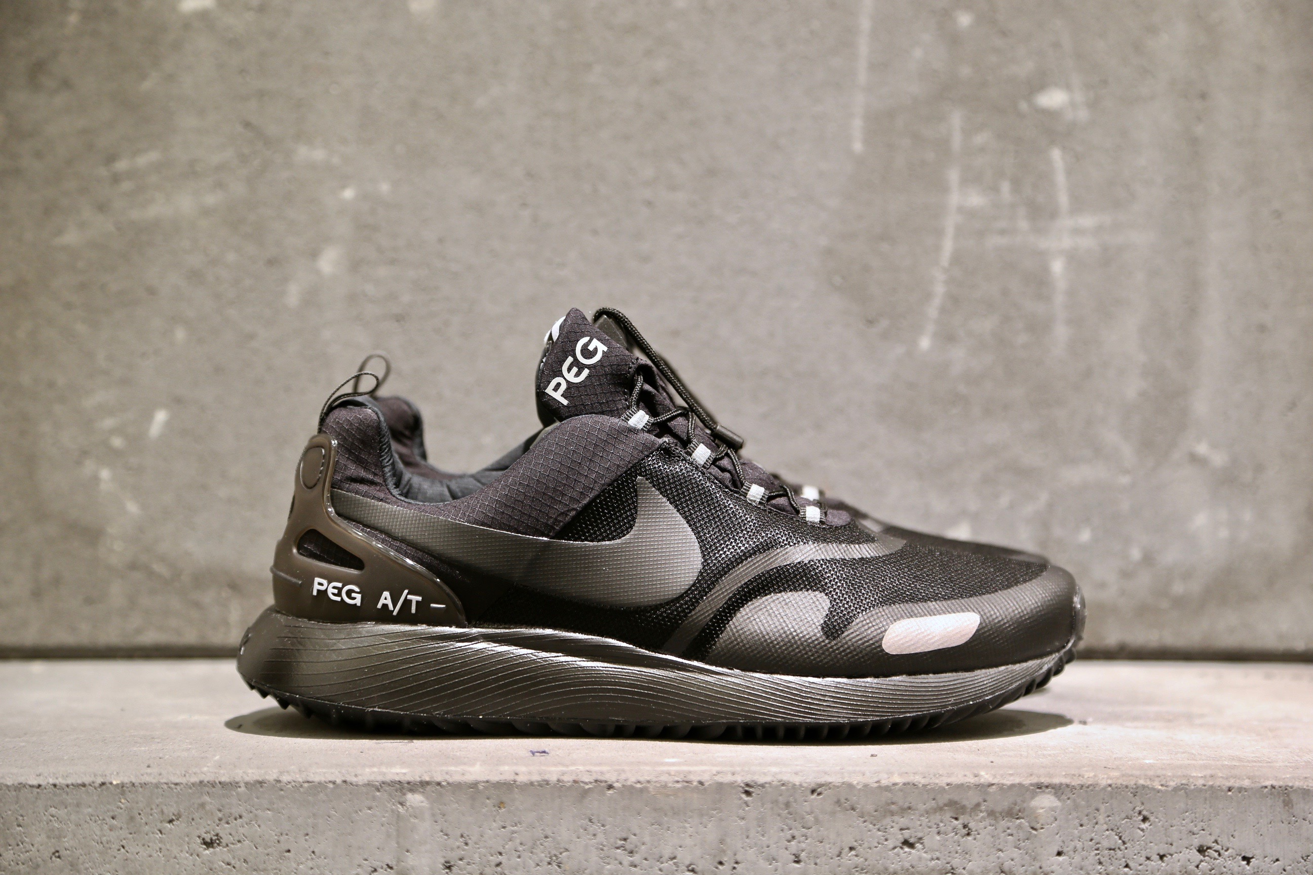 Nike Air Pegasus A T Winter – Black   Black – STASP 6a5c92d77b0d