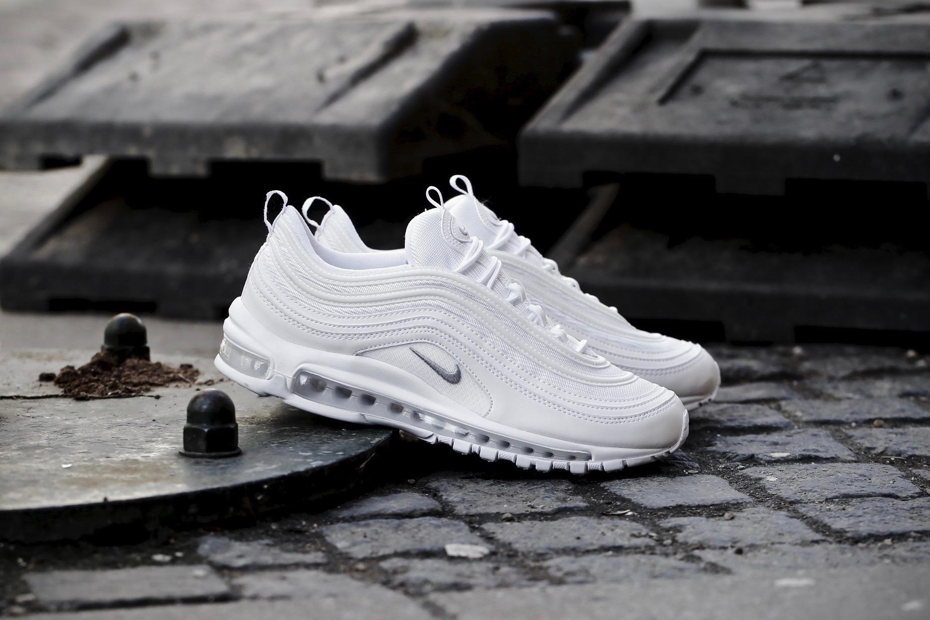 Nike Air Max 97 shoes white grey