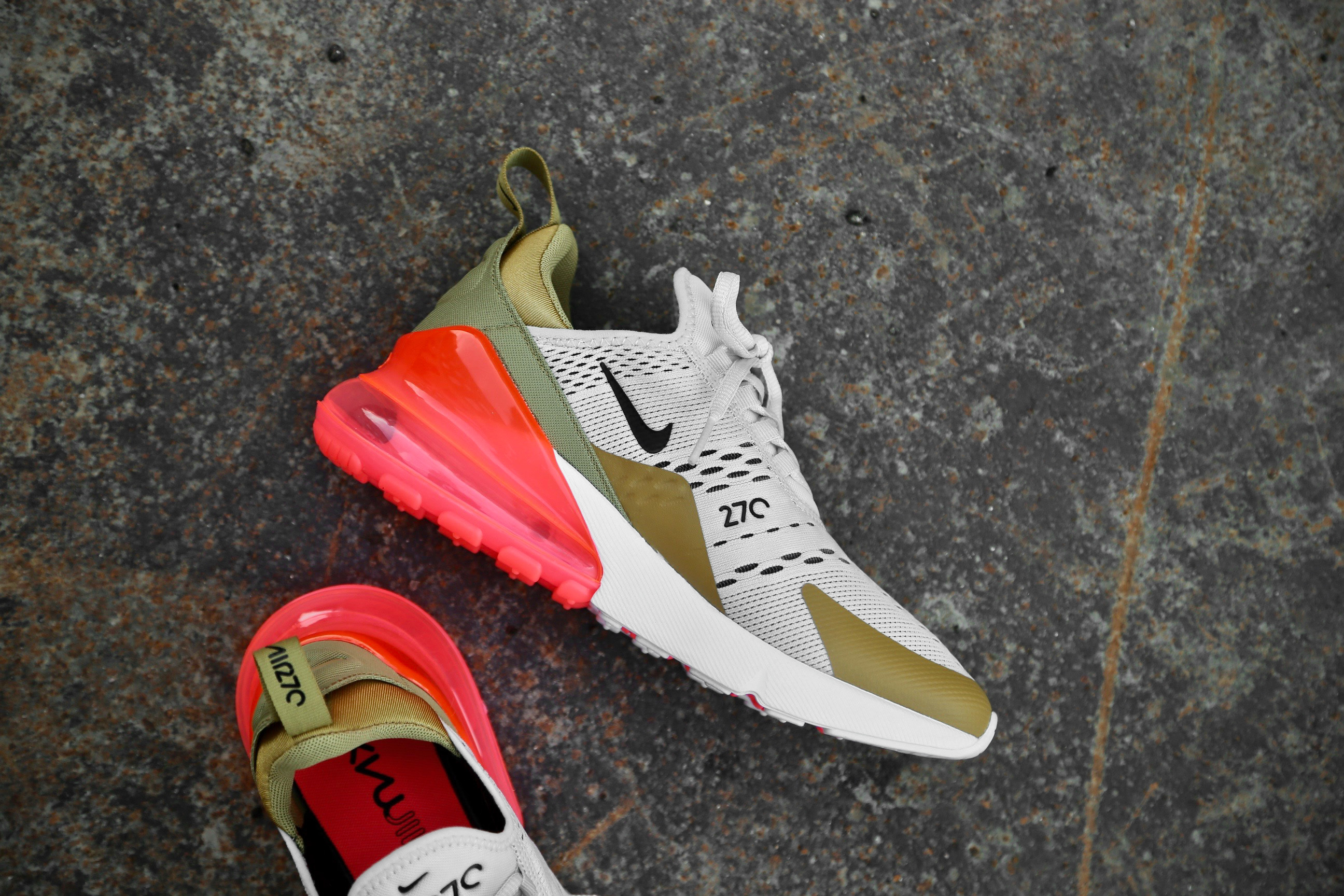Nike W Air Max 270 – Flat Gold Light Bone White – STASP
