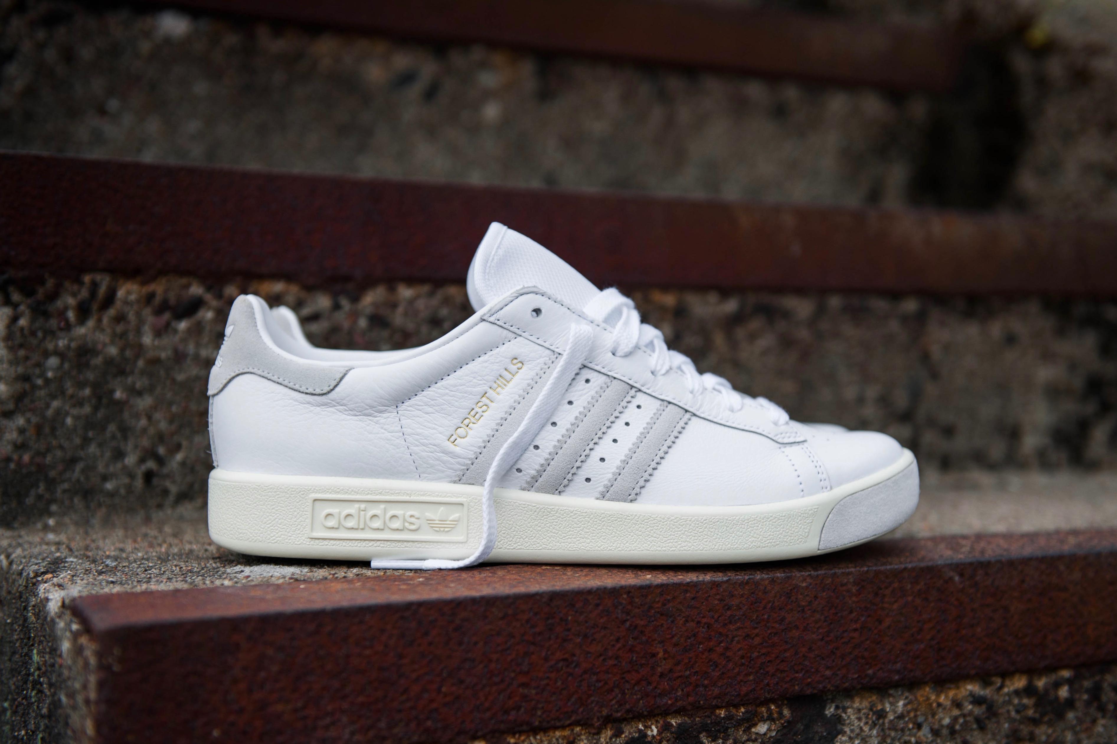 adidas Originals Forest Hills Ftwr White Cream White Crystal White