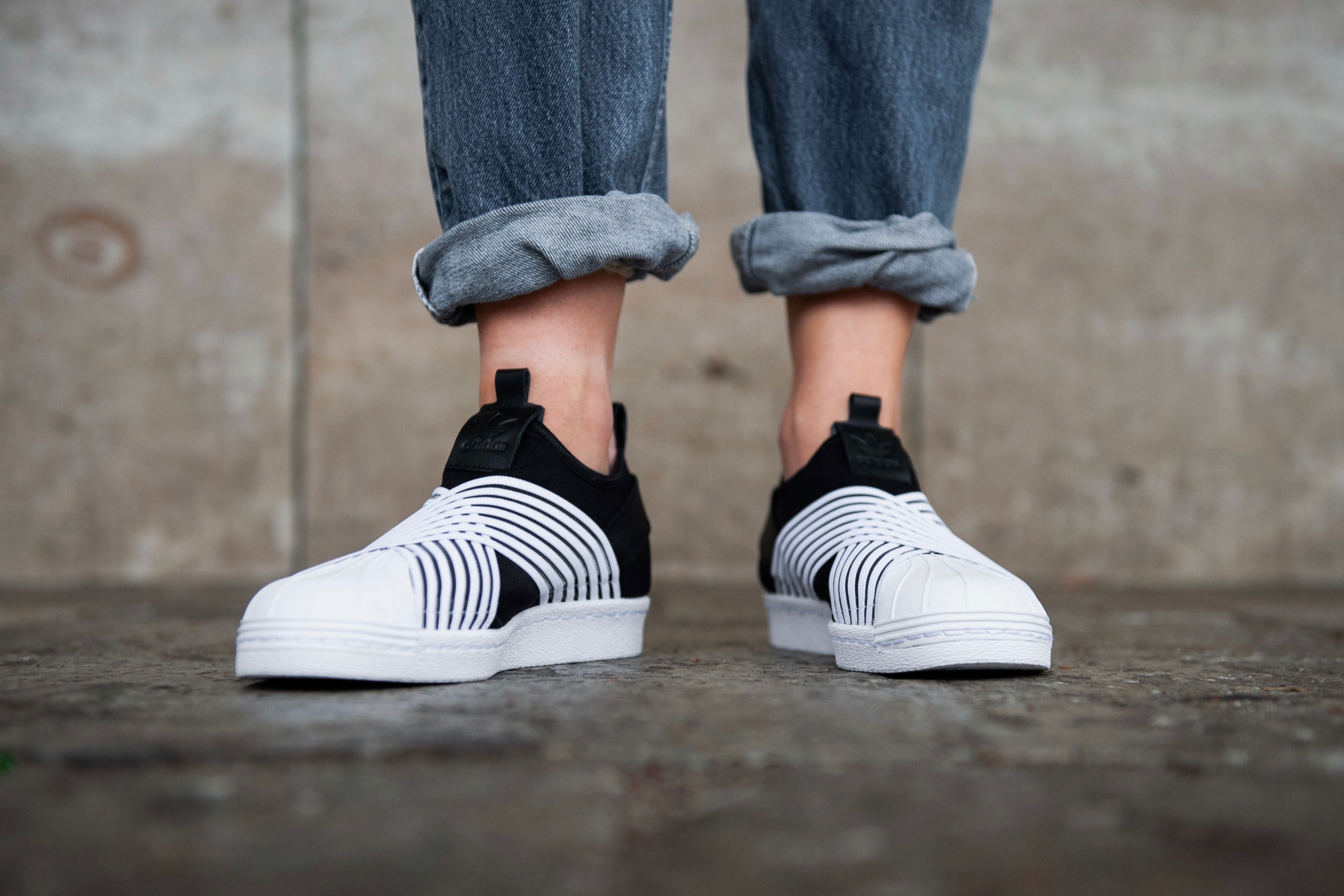 adidas Originals Superstar Slip On W – Core Black Ftwr