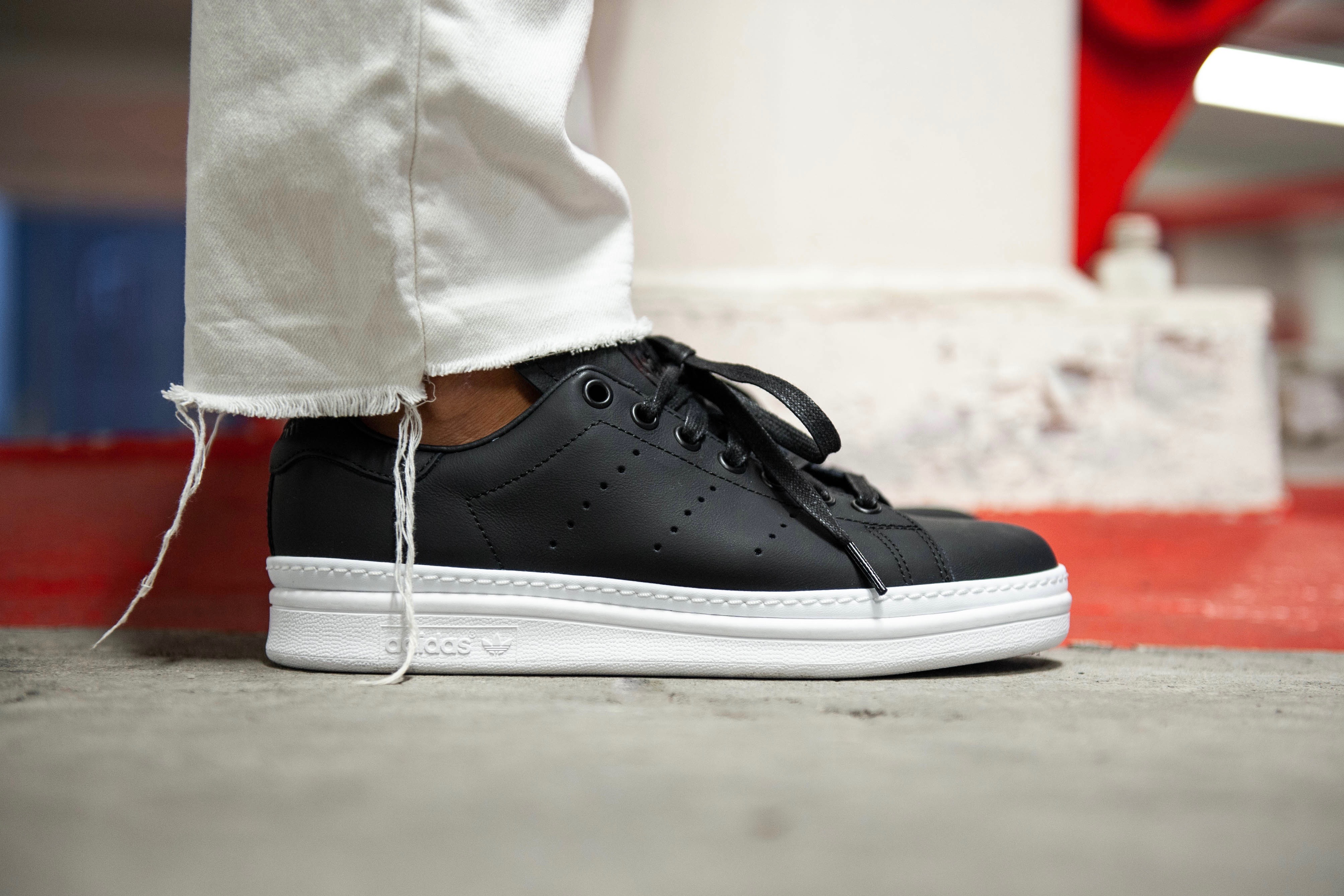 cc251a849a4 adidas Originals Stan Smith New Bold W – Core Black   Ftwr White – STASP