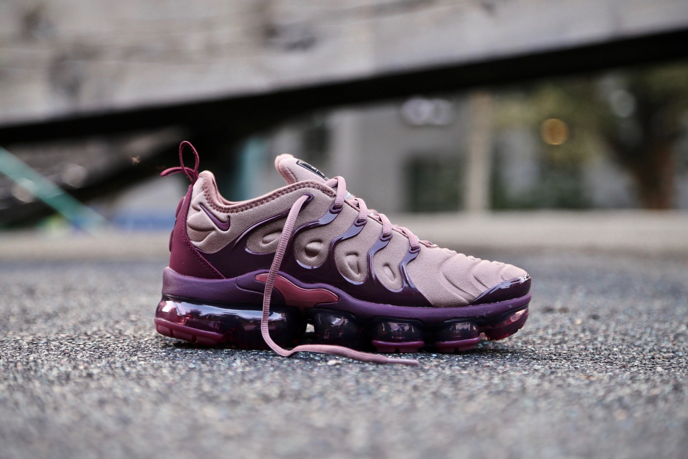 cheaper 187af a67e4 Nike W Air VaporMax Plus - Smokey Mauve / Bordeaux
