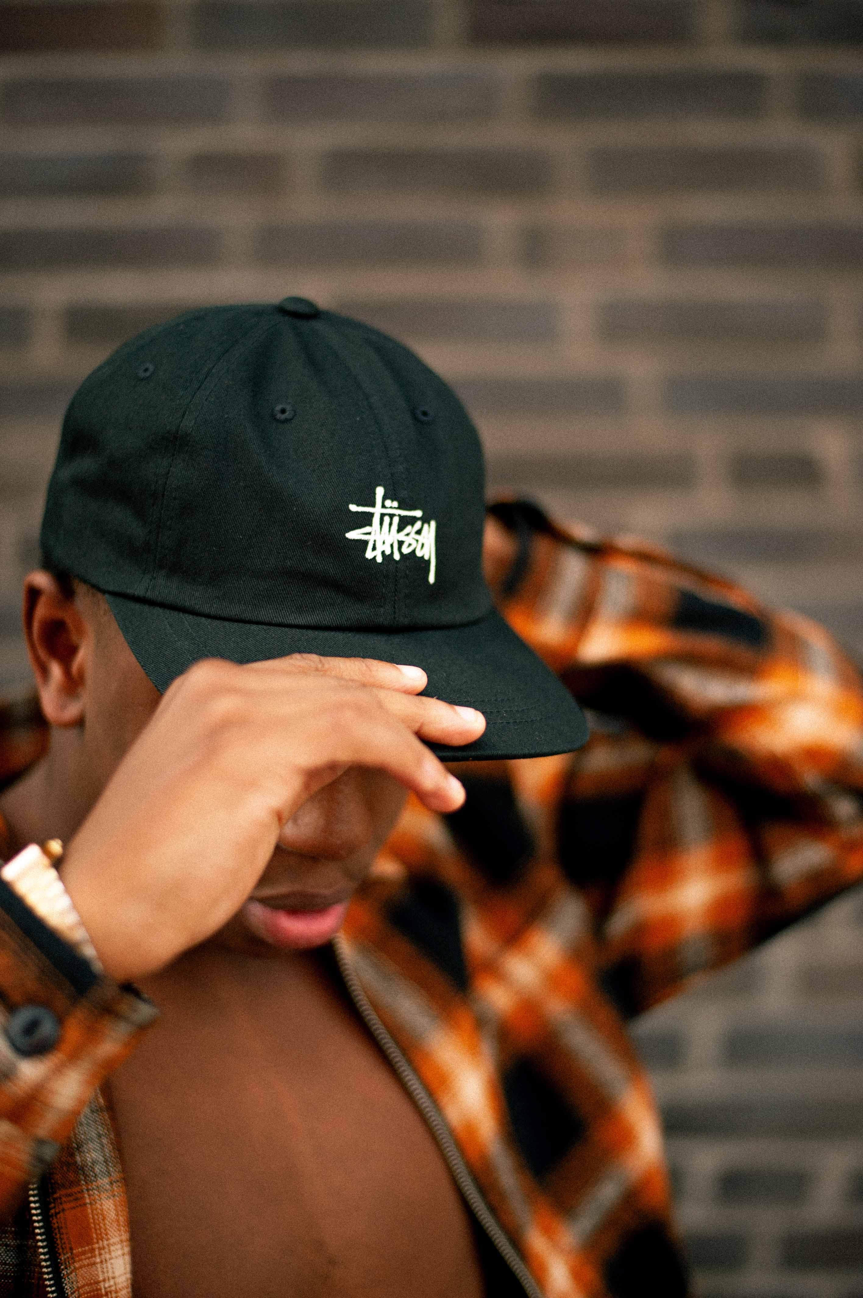 54203ee3 Stüssy Stock Low Pro Cap – Black – STASP