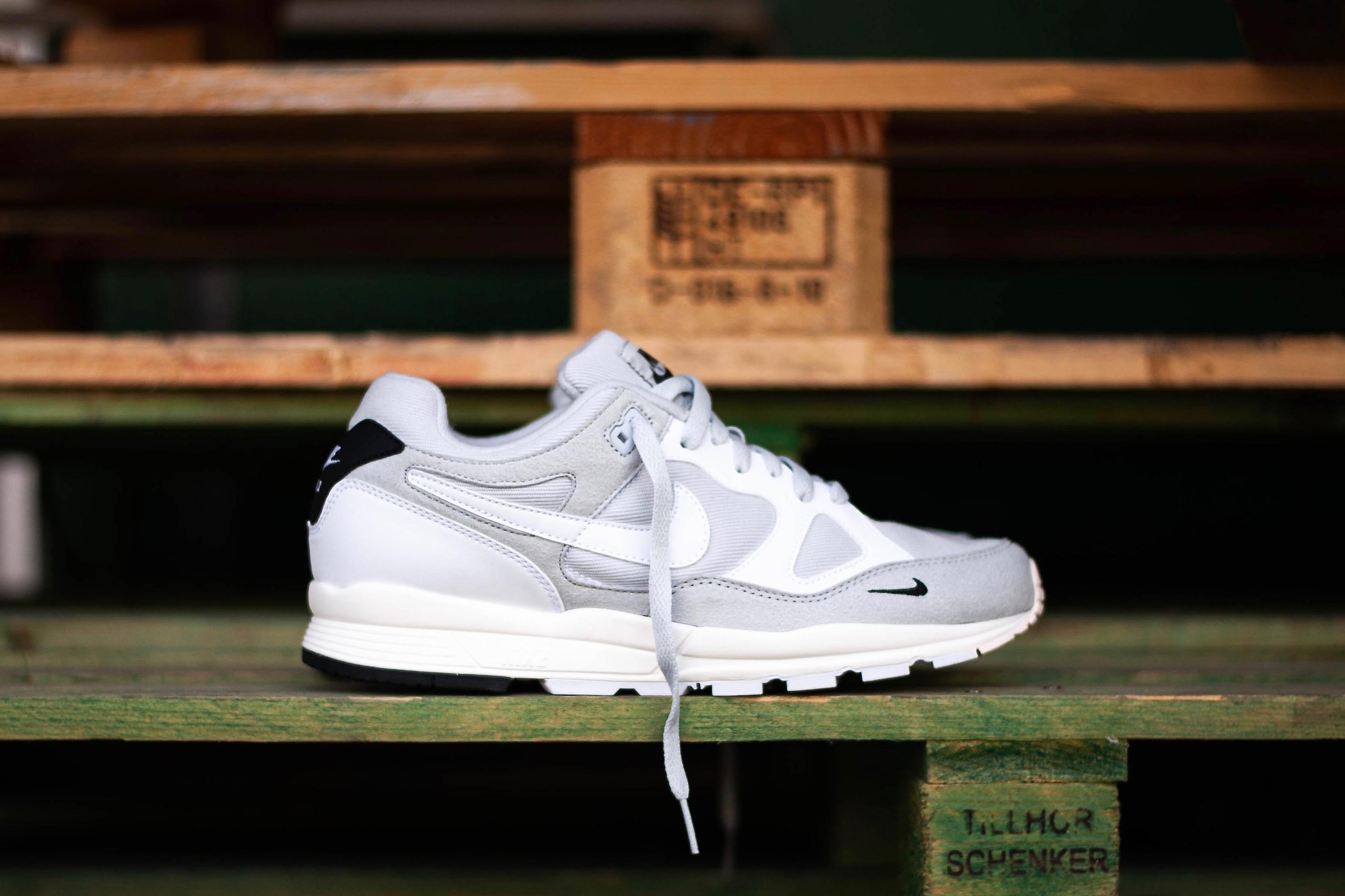 9fc93a251c370 Nike Air Span II SE – Pure Platinum / Black / Sail / White – STASP