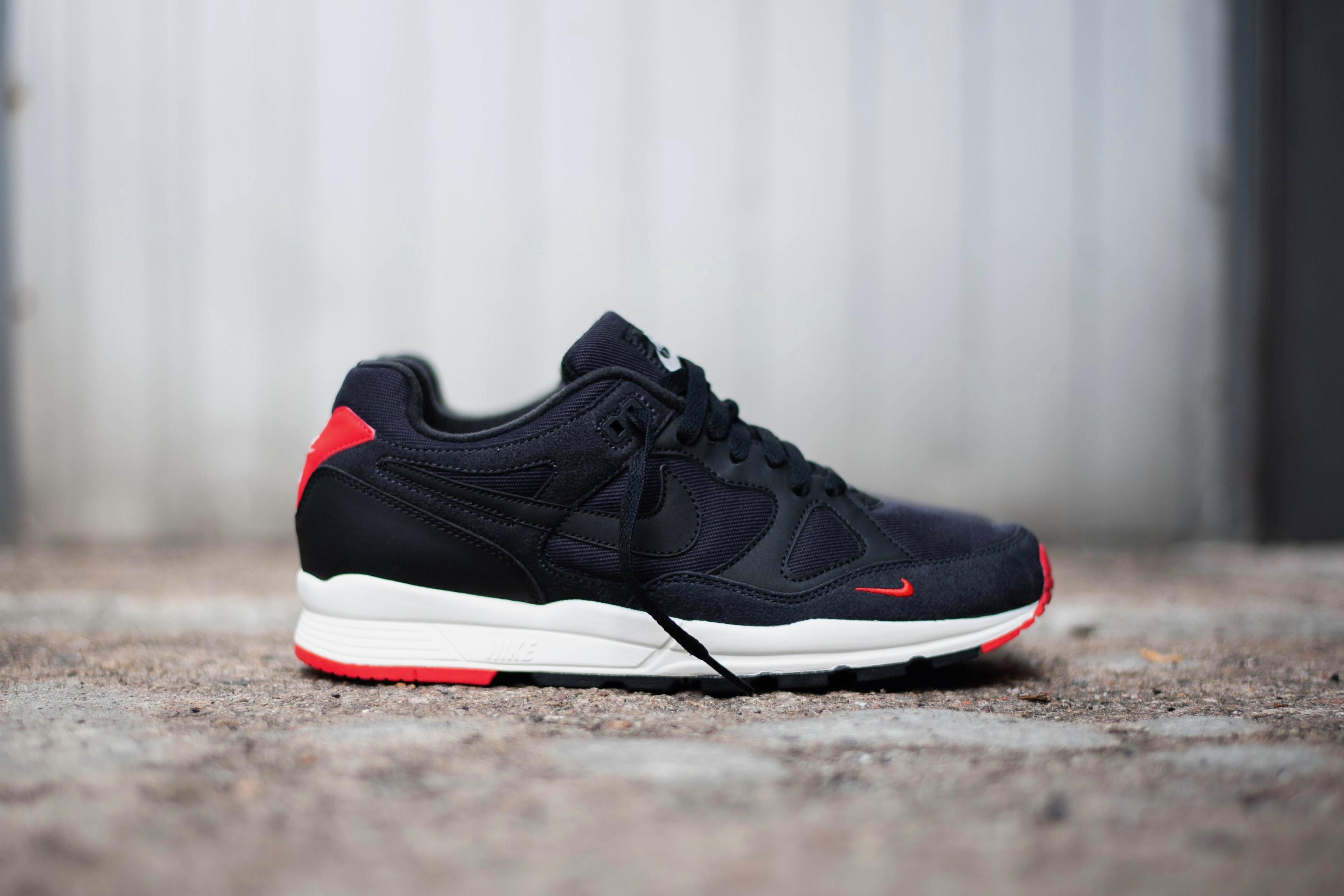 sale retailer 7af7f 4e182 Nike Air Span II SE – Oil Grey   University Red   Sail   Black – STASP