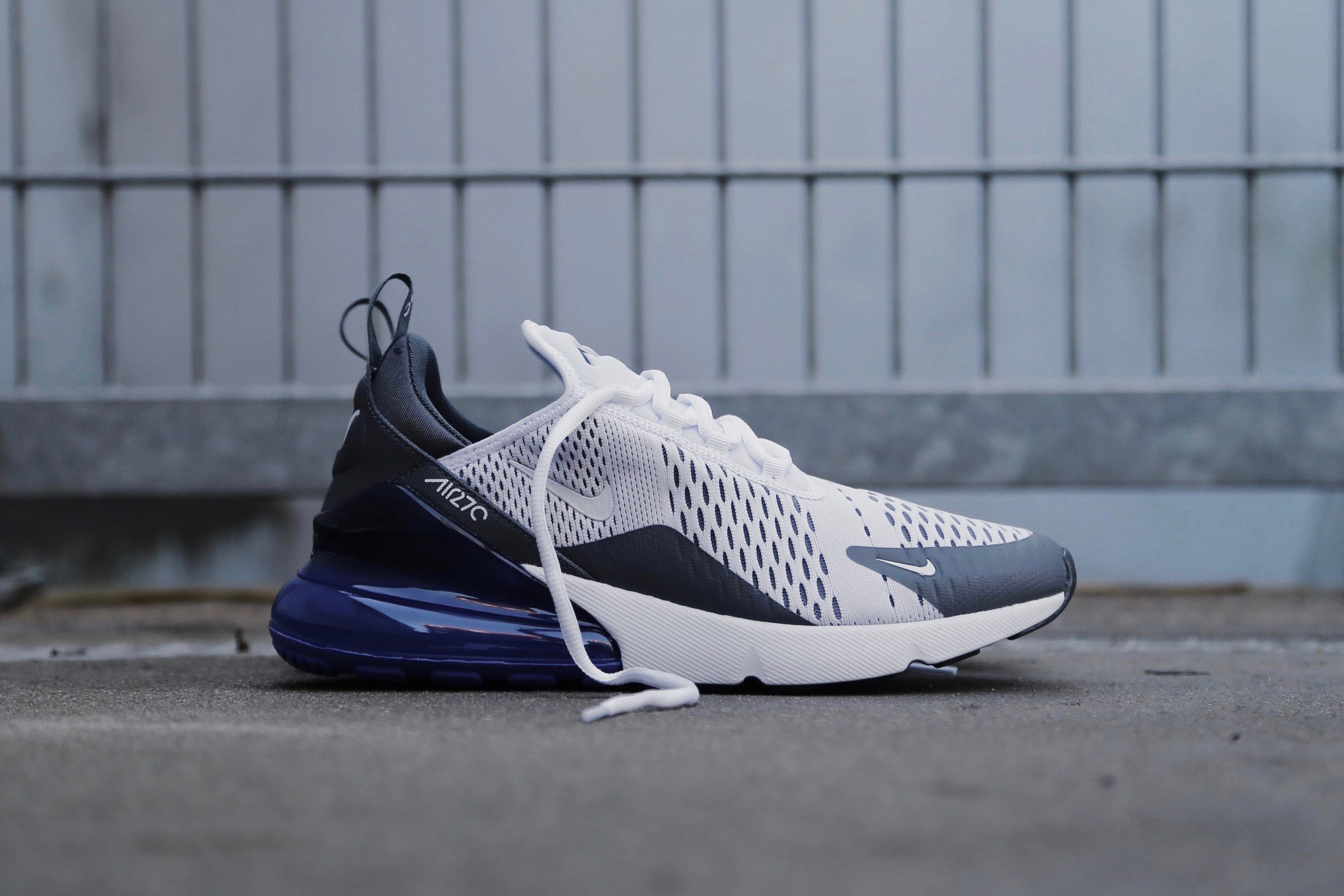 best authentic 3644c f1ad5 Nike Air Max 270 – White   Persian Violet   Dark Grey – STASP
