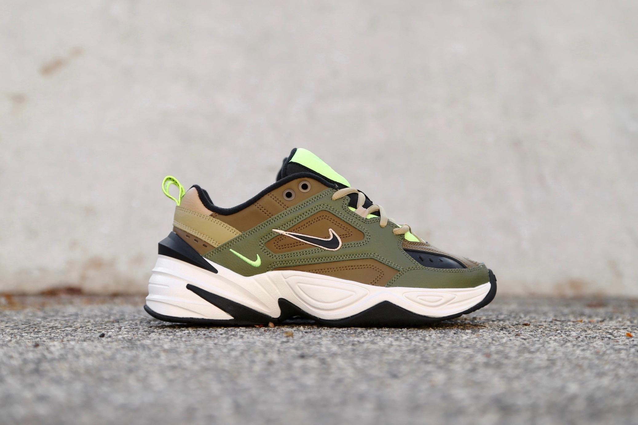 dcfc7cc2a0 Nike W M2K Tekno – Medium Olive / Yukon Brown / Parachute Beige ...