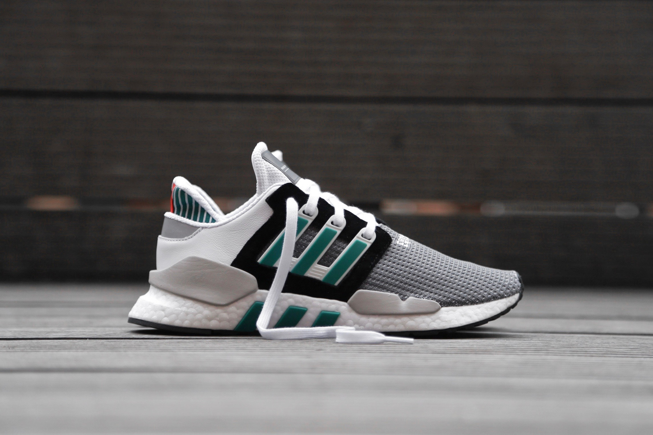 best loved 19348 b4508 adidas Originals EQT Support 91/18 - Core Black / Clear Granite / Sub Green